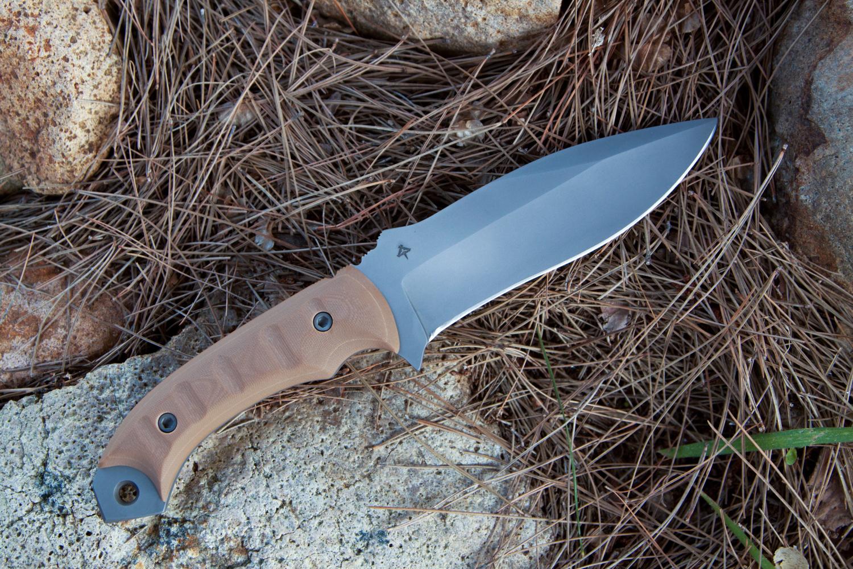 Coyote tan G10 handles