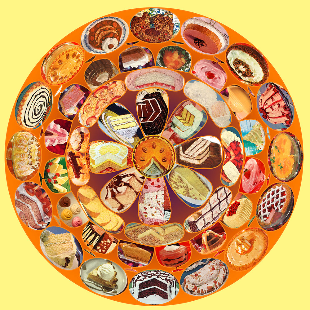 Fabulous Fifties Dessert Mandala