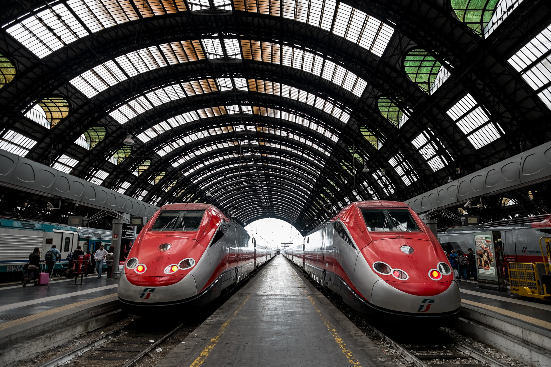 We arrived at Milano Centrale to make our way from Milan to Cinque Terre.