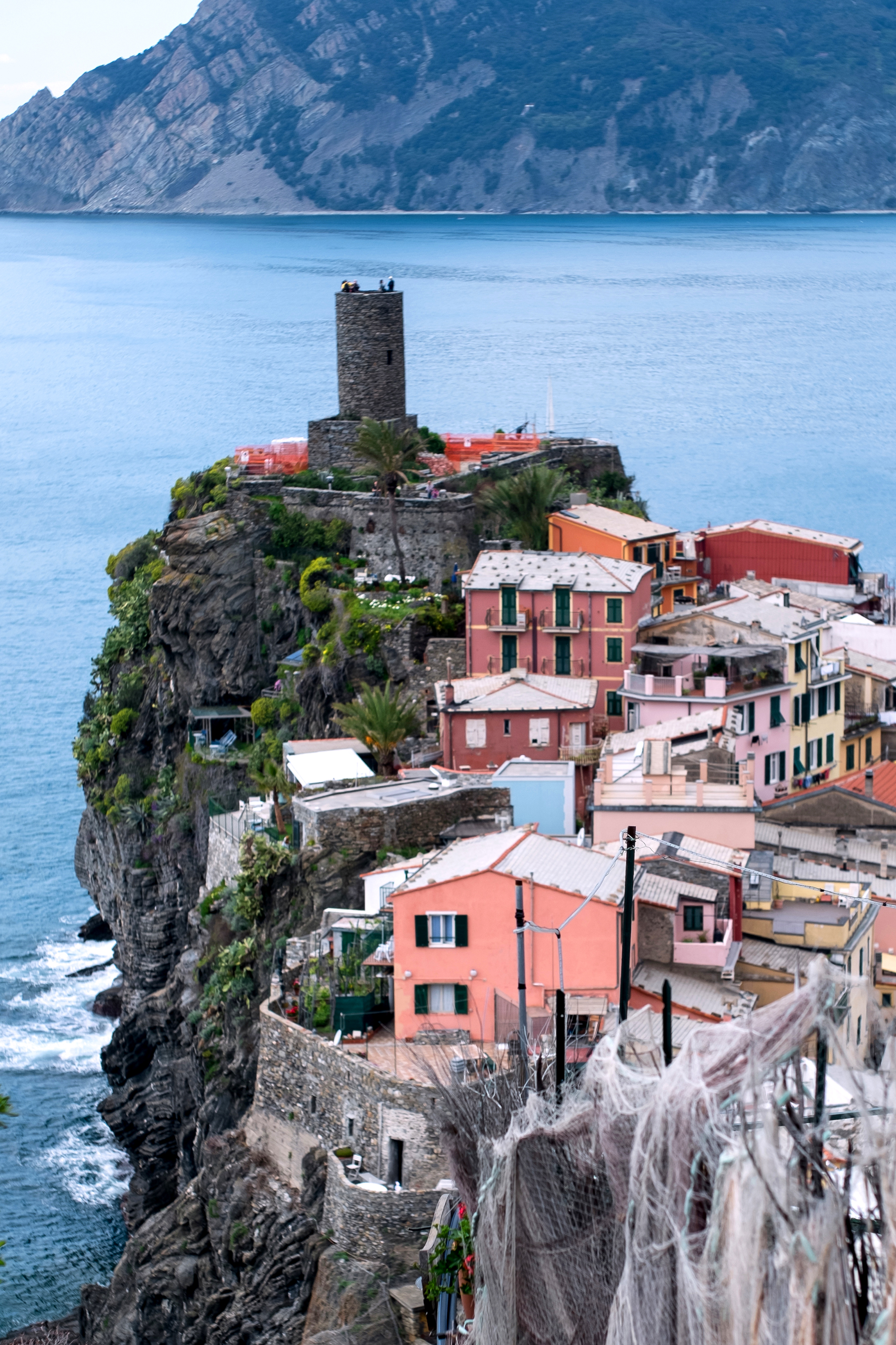 Vernazza is the fourth town heading north in the Cinque Terre region, has no car traffic and remains one of the truest fishing villages on the Italian Riviera.The first records of Vernazza date back to the year 1080. An active maritime base, it was a likely point of departure for naval forces in defense of pirates.