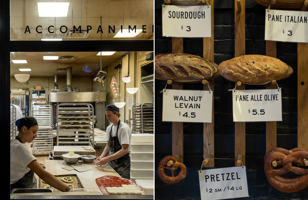 Making gigantic pretzels at  Easy Tiger ,aka, Bread Heaven.