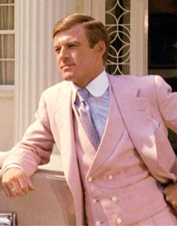 """""""Like hell he is! He wears a pink suit."""" - The Great Gatsby"""