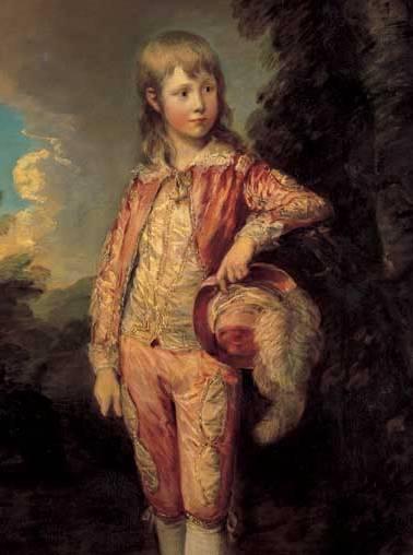 Gainsborough's 18th century portrait of The Pink Boy.
