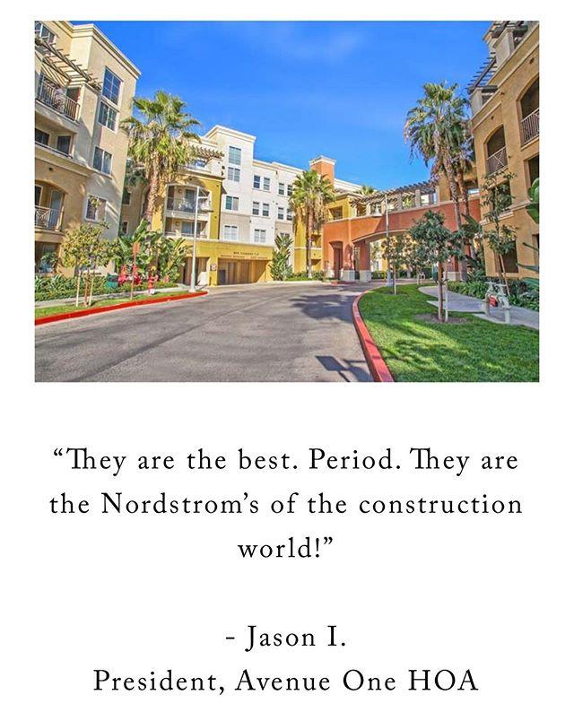 #construction #builders #generalcontractor #orangecounty #propertymanagement #testimonytuesday #designbuild #reconstruction #losangeles #homeownersassociation