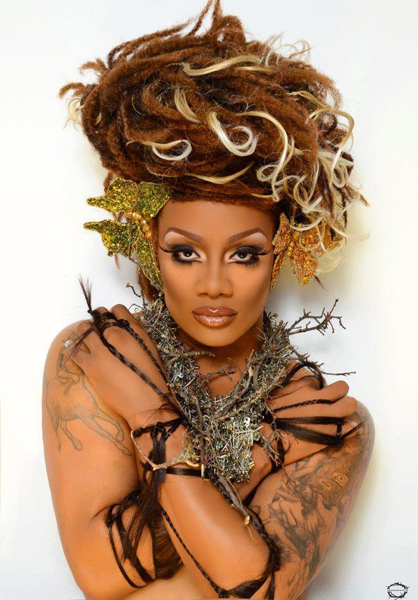 Lonnie's alter ego, Mercedez Munro, Miss Gay United States 2013