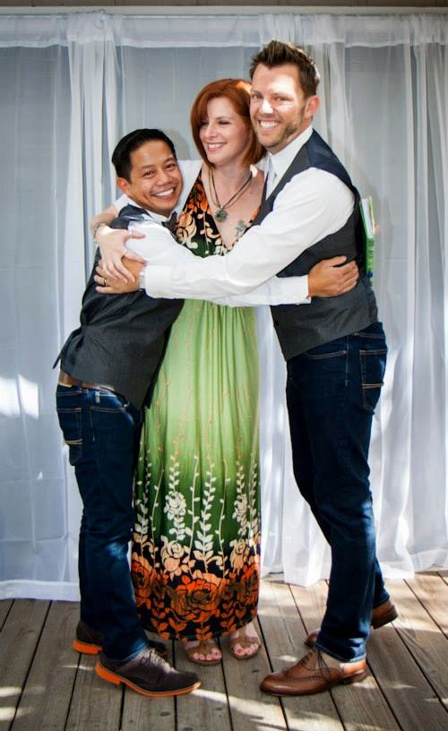 We did it! Cameron marries Ro & Paul, October 5th, 2013.
