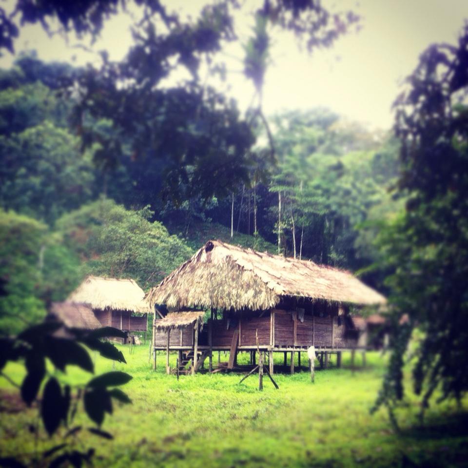 Casa indígena talamanqueña.