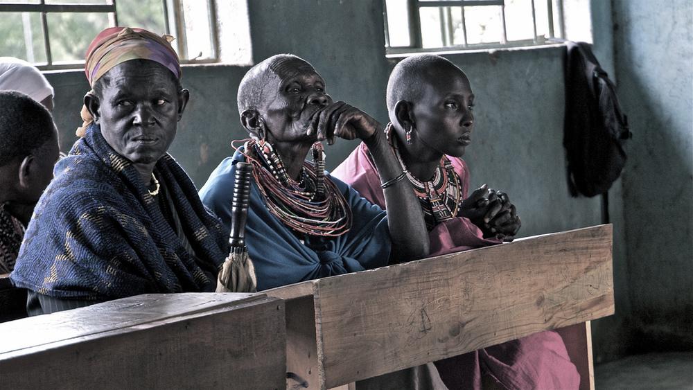 Mujeres maasai