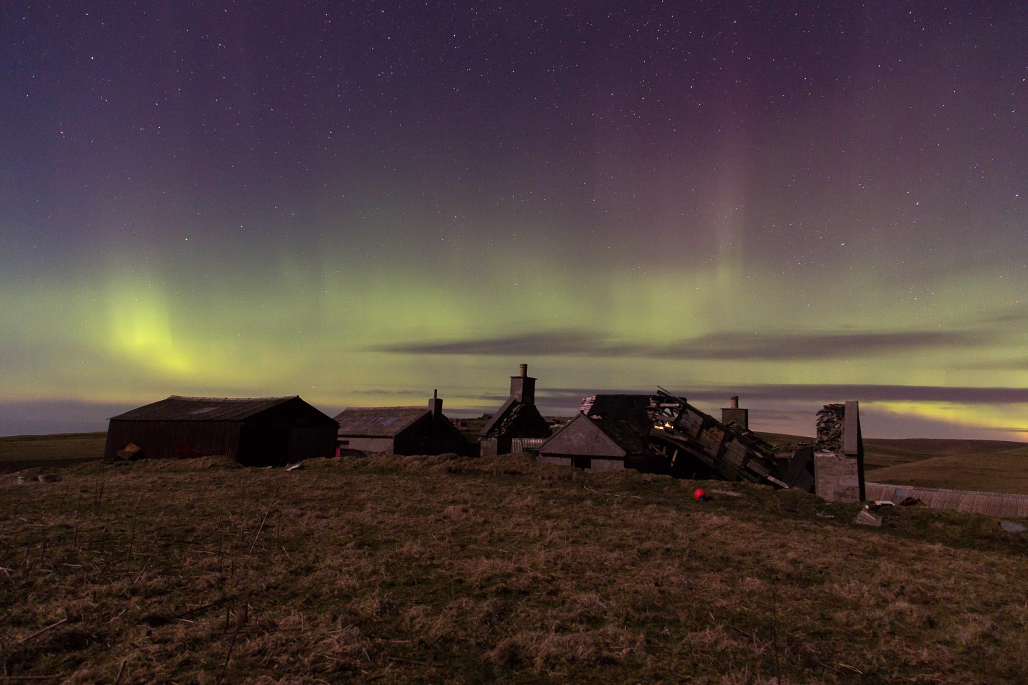 Northern Lights over Clavel