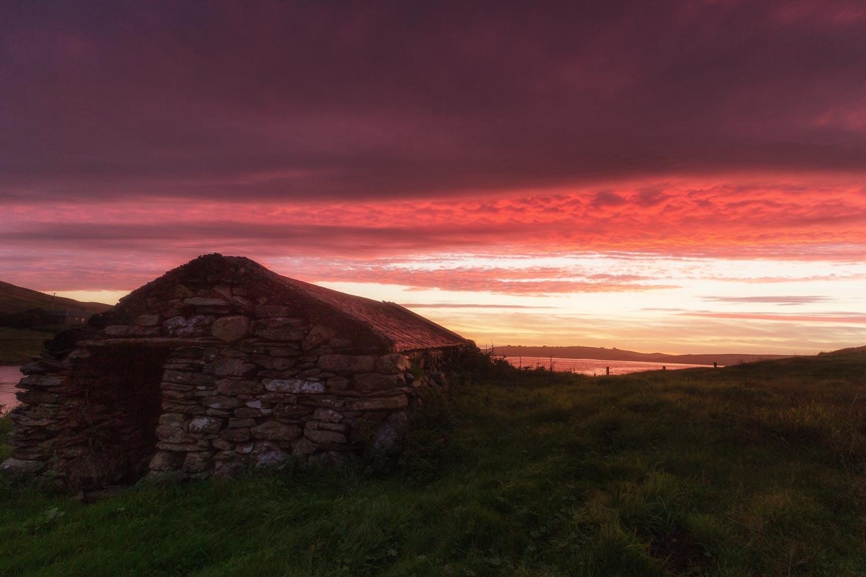 Wester Quarff Sunset