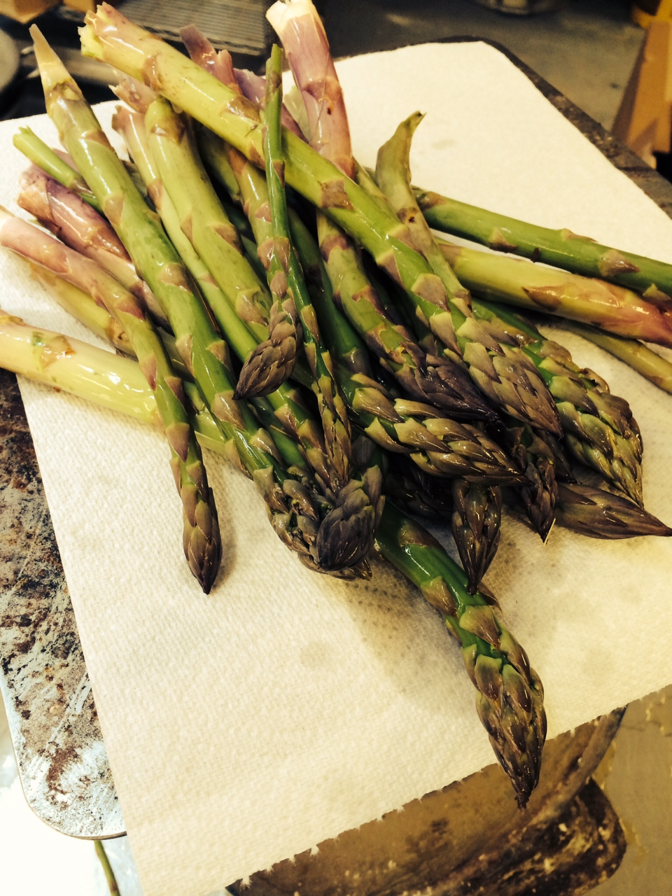 Our asparagus is so good that we actually prefer it raw!