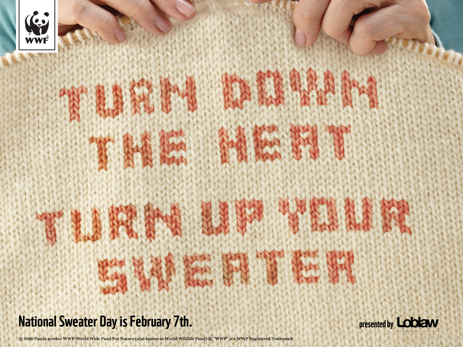 To learn more, visit  SweaterDay.ca