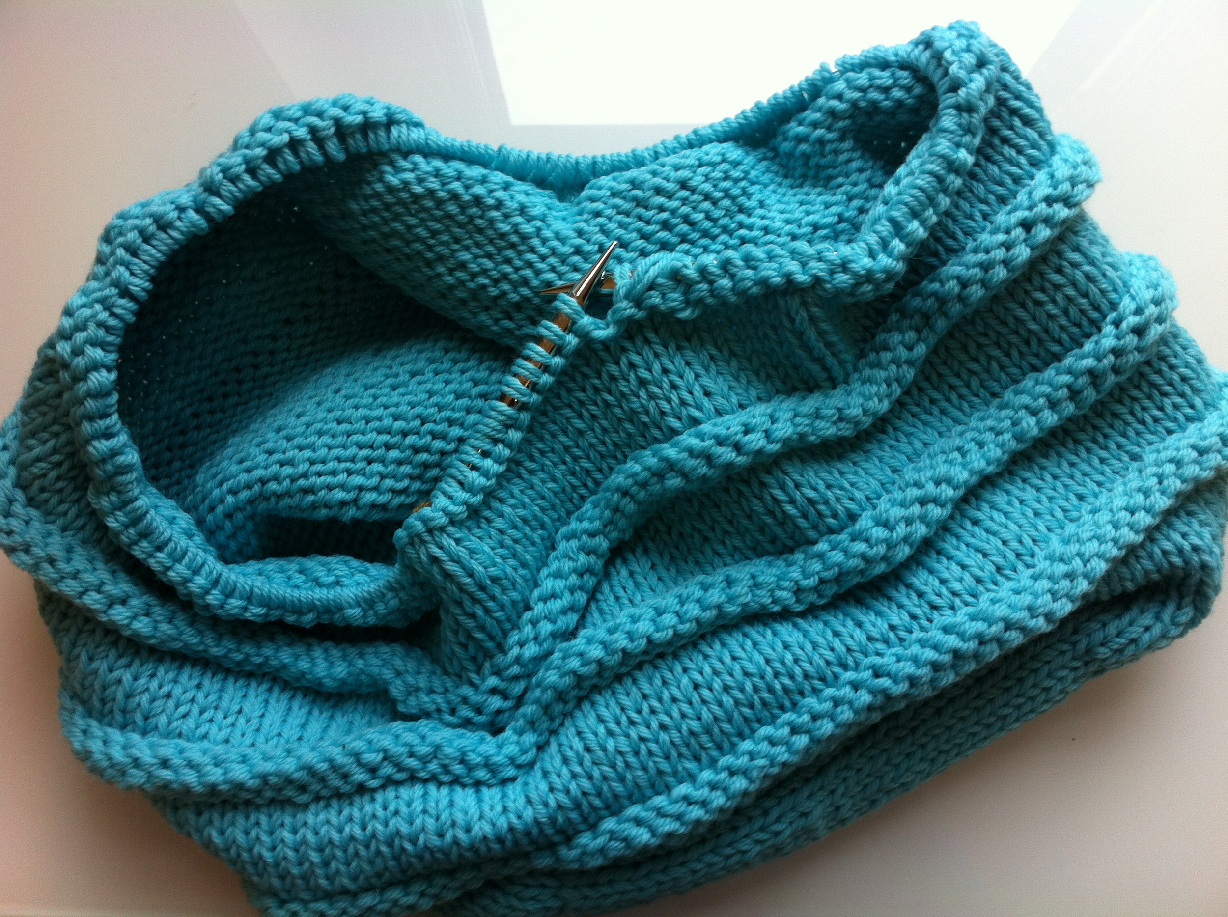 WIP:  Bedouin Bag in Three Sizes  by Nora J. Bellows. I'm doing the smallest size.
