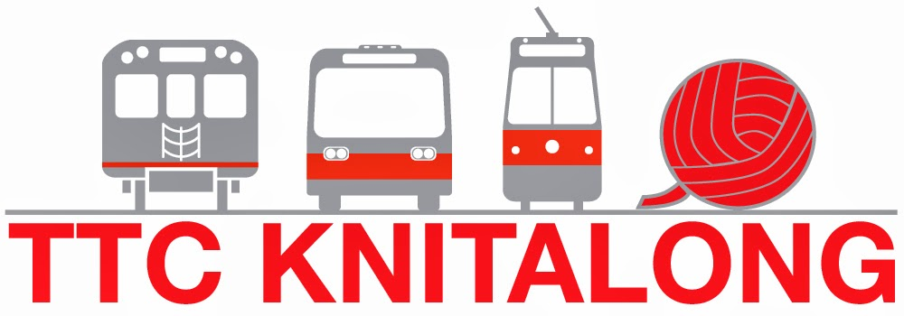 The  TTC Knitalong  has their promotional push underway ahead of their big day of Saturday, July 20. So disappointed to be missing it this year! If you're in Toronto, check it out!