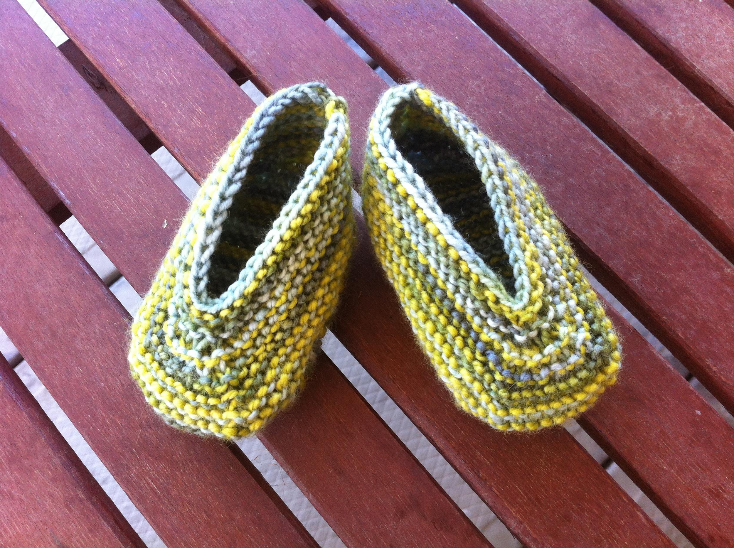 Pattern:  Magic Slippers  by Caroline Hegwer