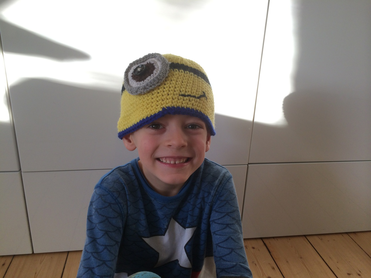 A Minion hat for Mr. H