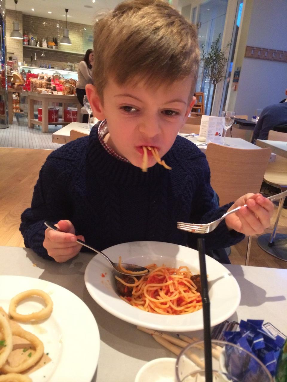 Spaghetti success - mostly!