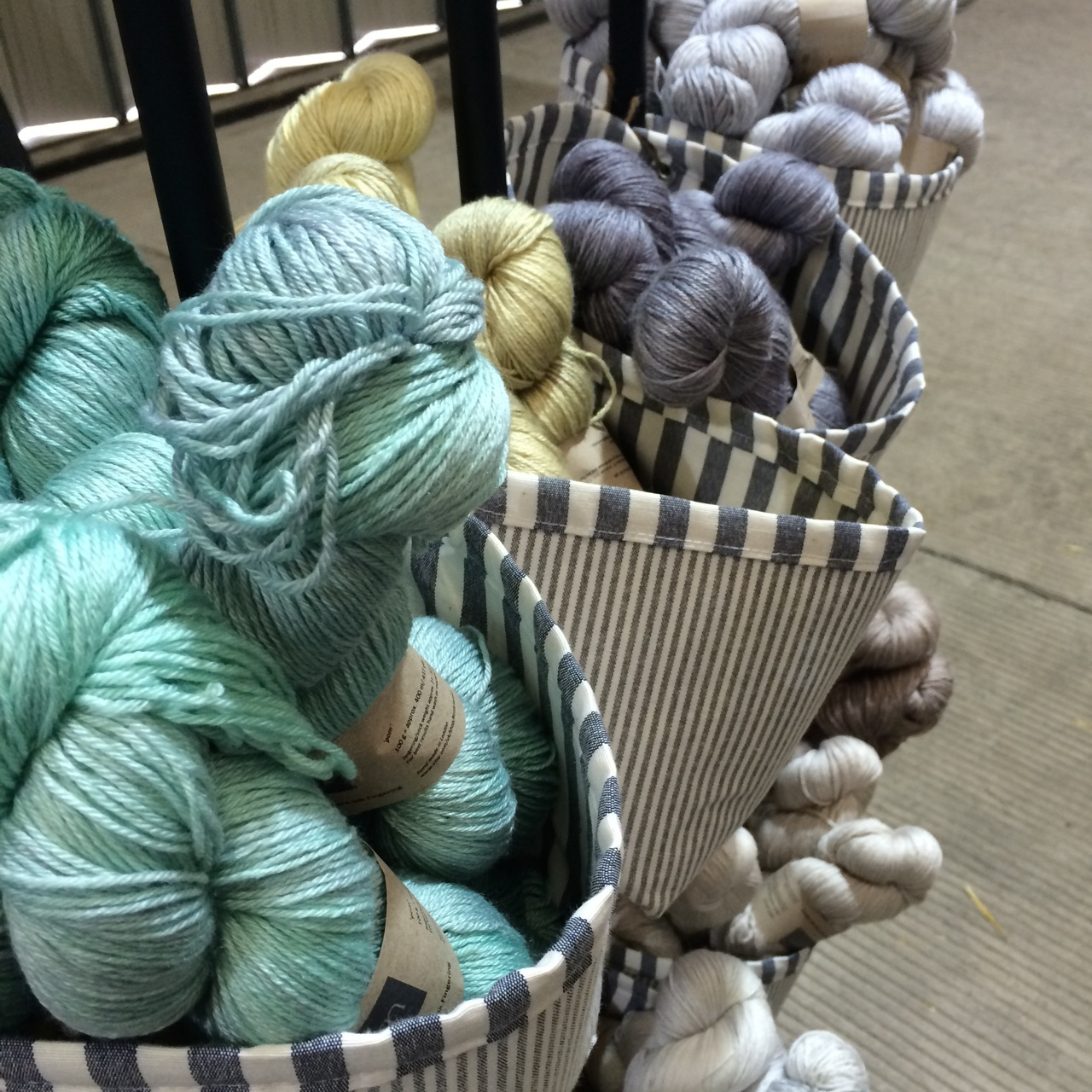 While  Kettle Yarn' s Islington was also very popular (and so sweetly displayed!).