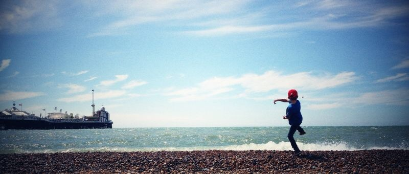 Ah... summer in Brighton! Photo credit: Jordan Thistlewood