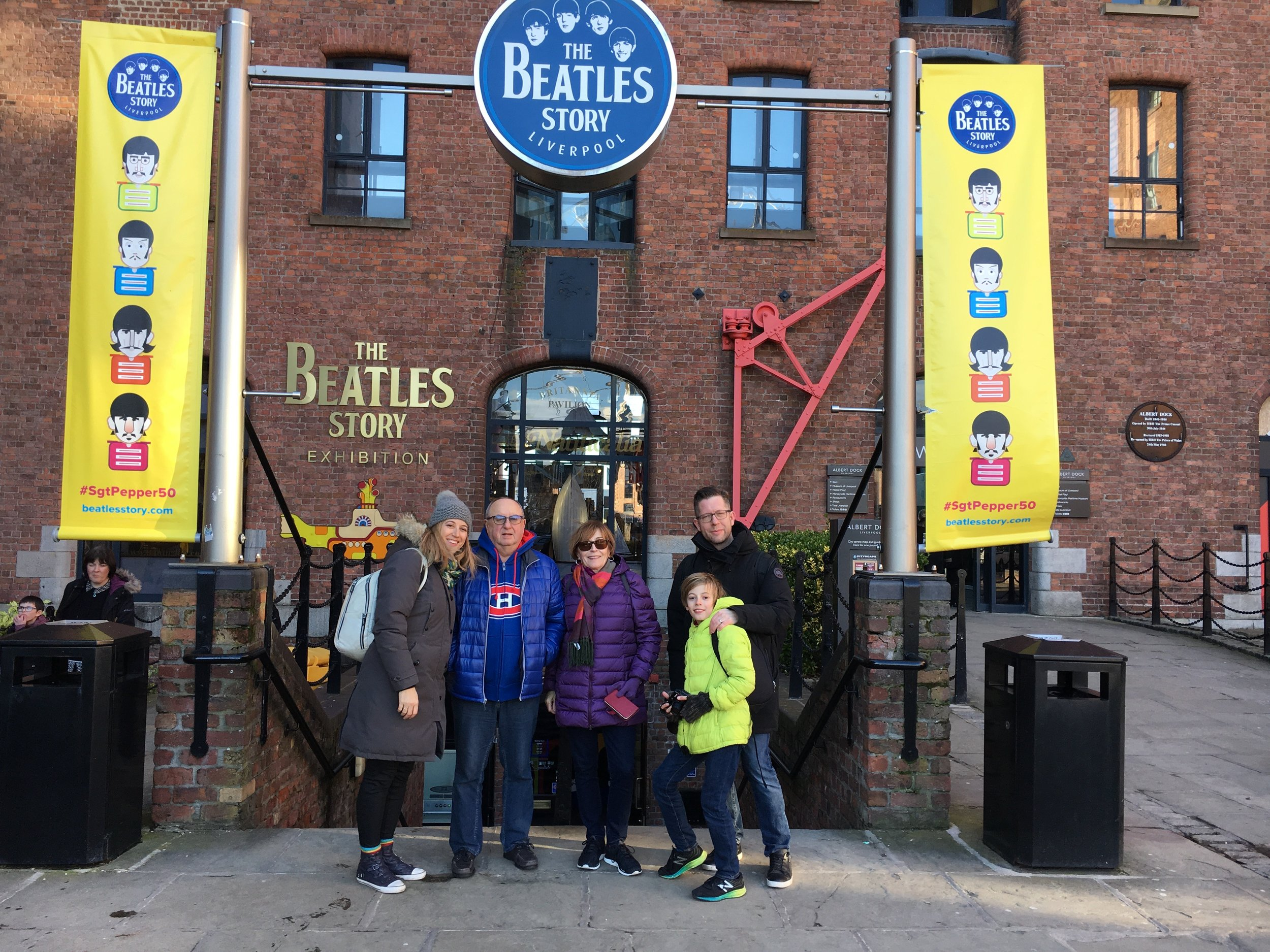 Liverpool was so cool I made a return visit and brought my family along for the ride