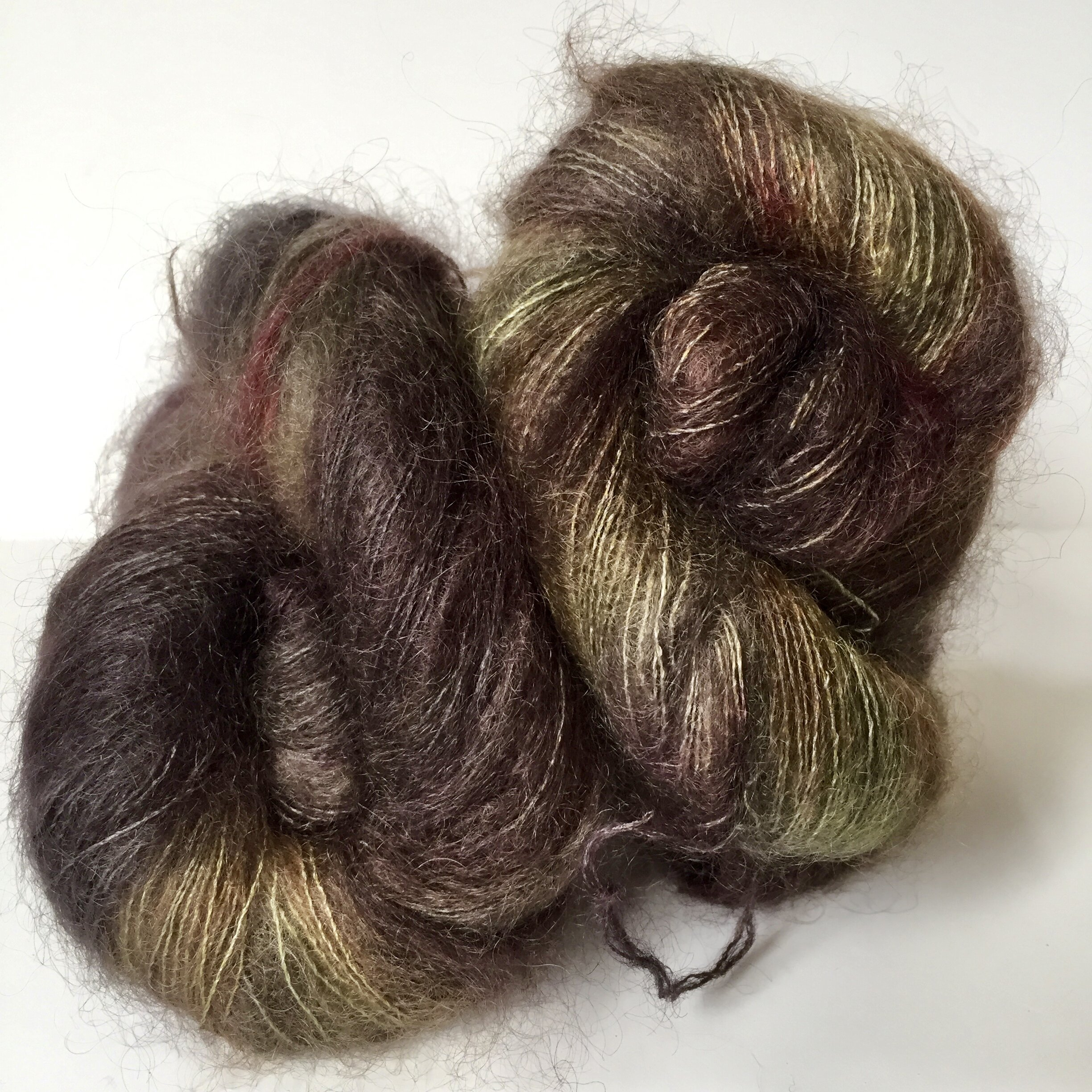 Kid silk mohair in sophisticated subtlety