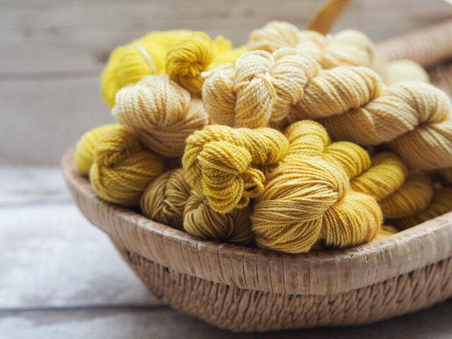A basket full of sunshine from Gather Yarn