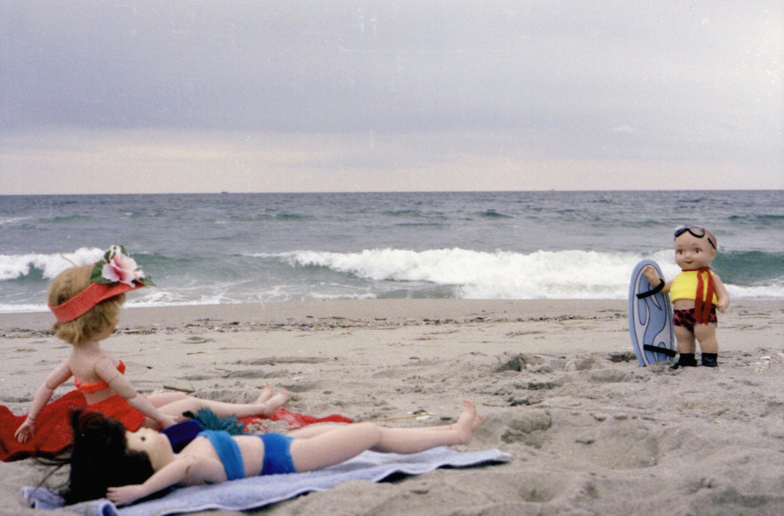 buddy at Rockaway Beach