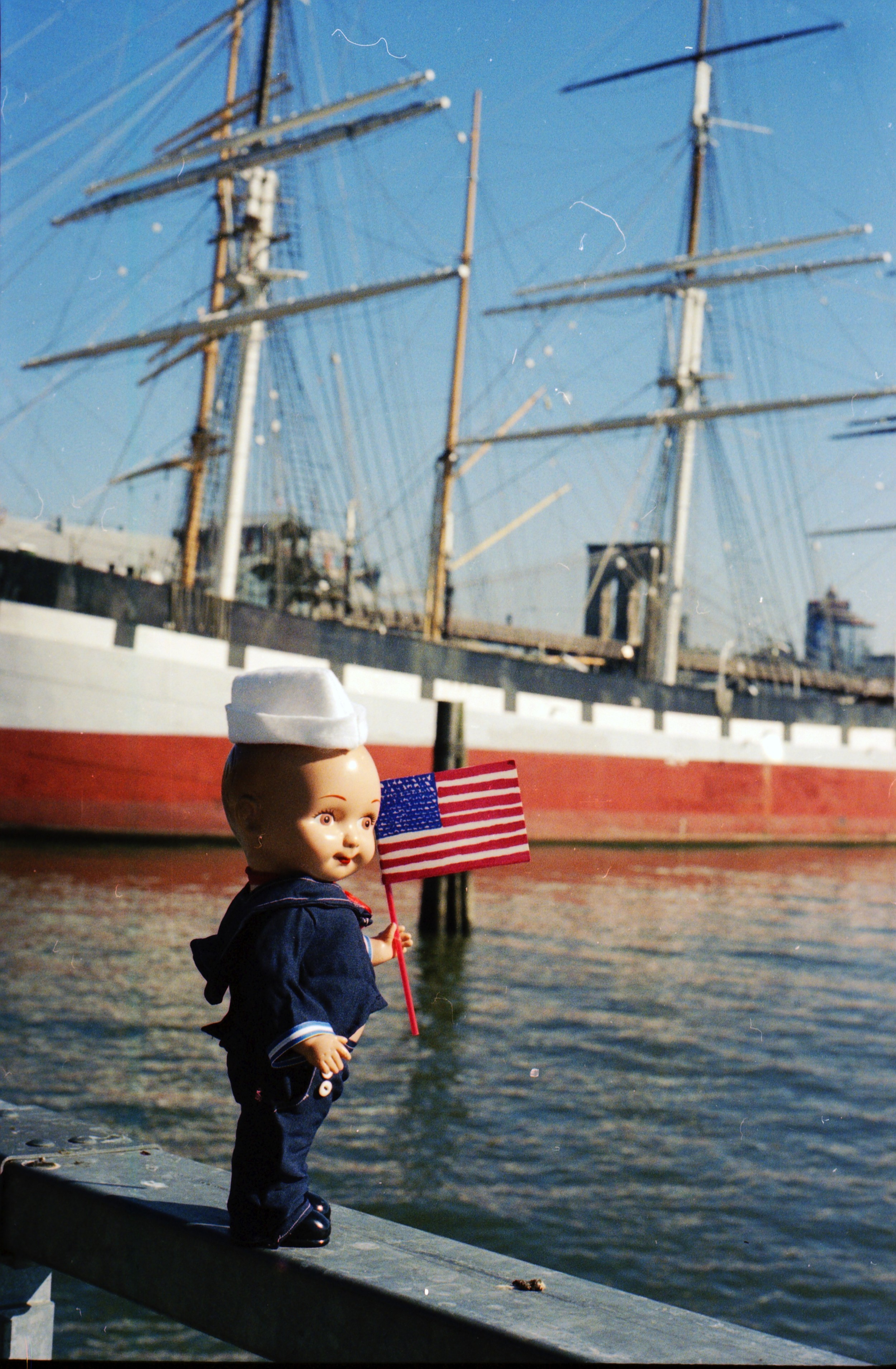 Buddy Ian at the South Street Seaport