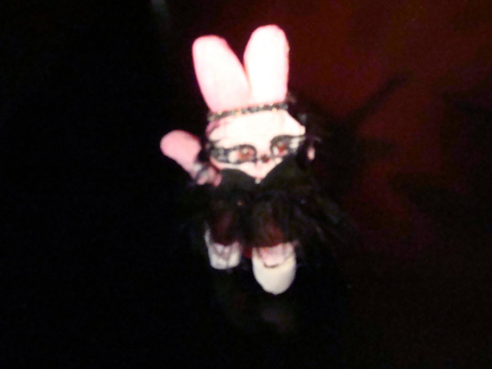 Black Peep diorama detail