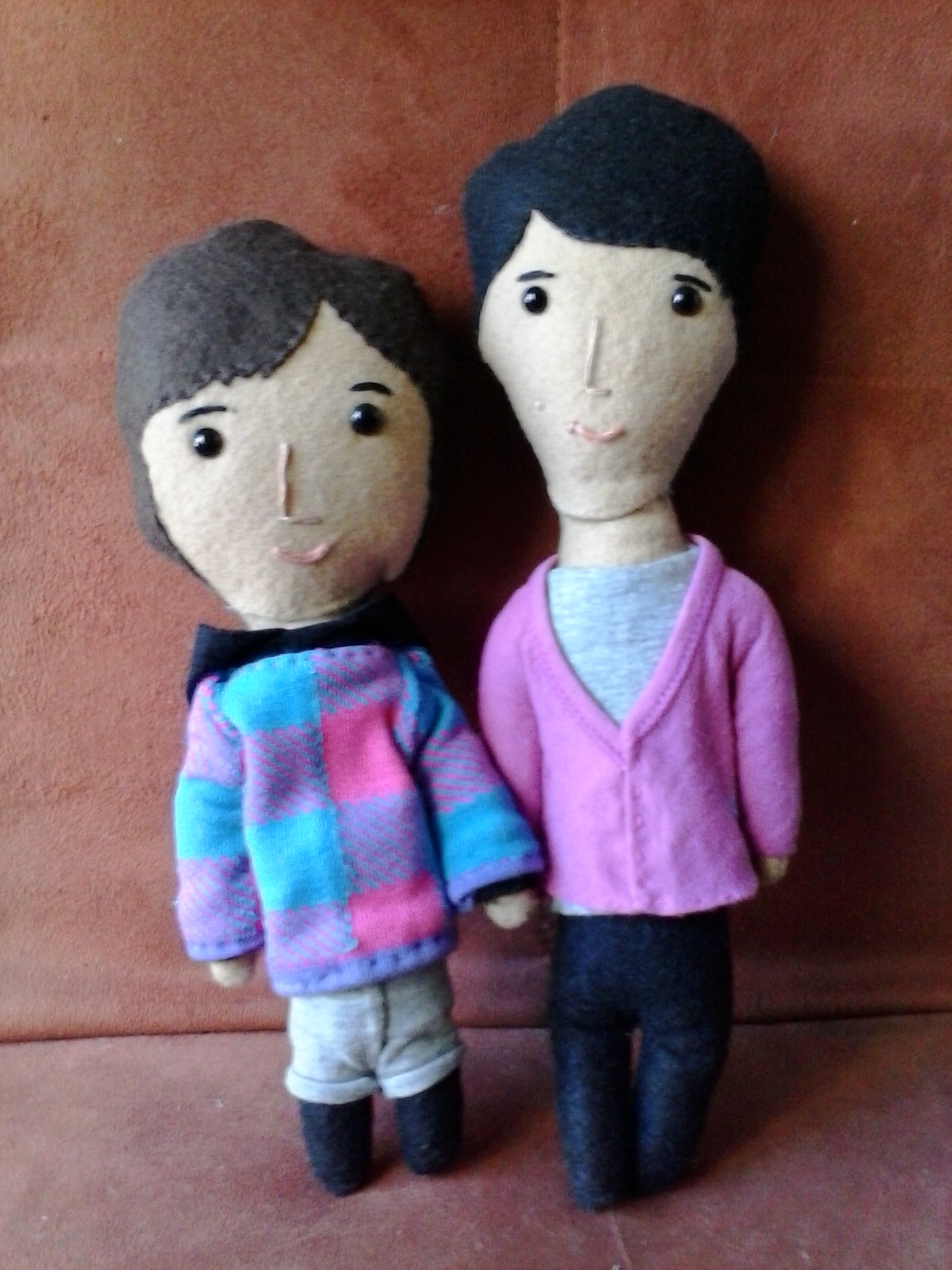 Gil Ra Im and Kim Joo Won dolls from Secret Garden