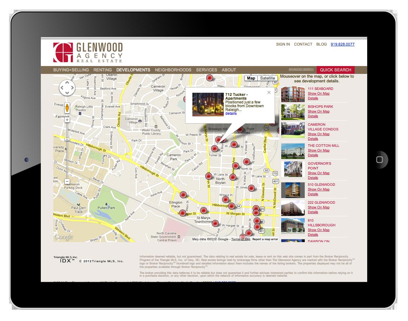 The Glenwood Agency Website