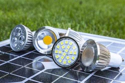 Various GU10 LED bulbs
