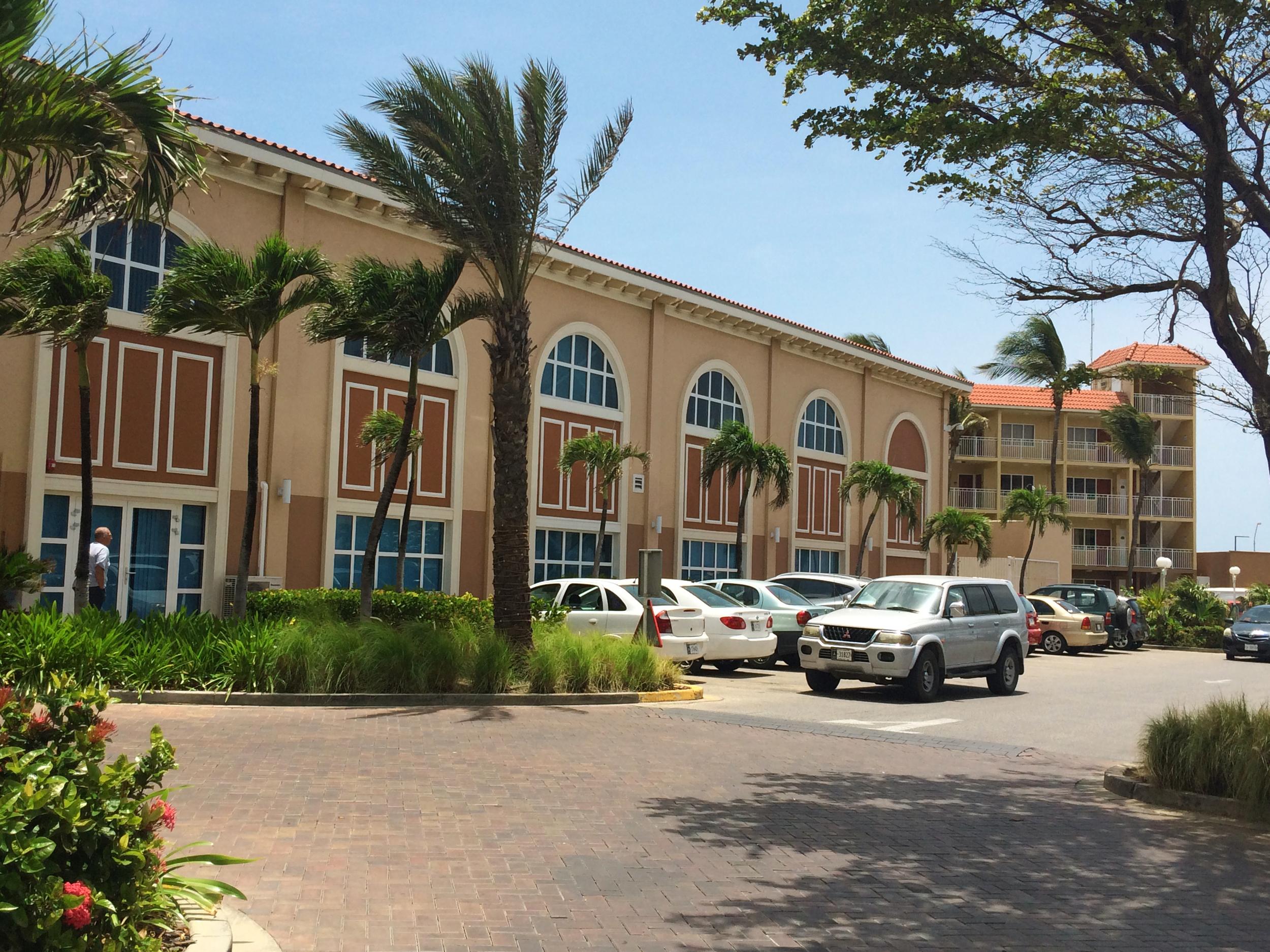 Side view of my hotel,  La Cabana