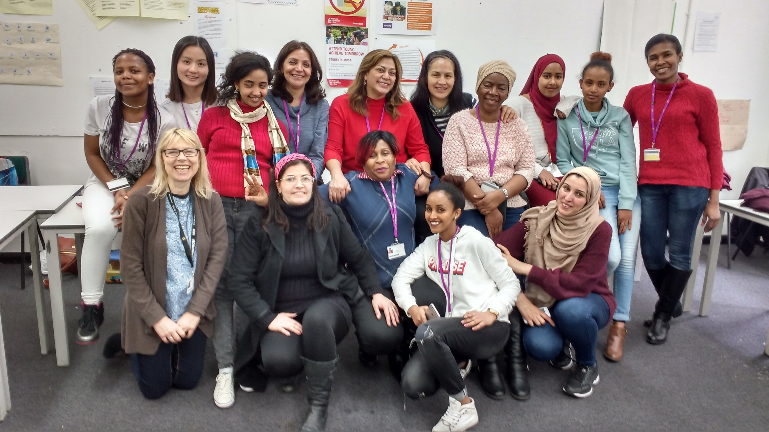 Student FUNDRAISERS from LEWISHAM College