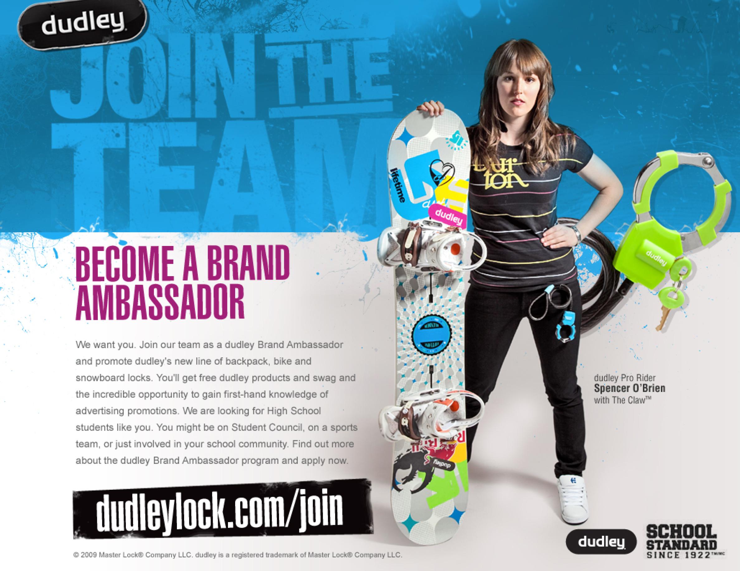 Master Lock dudley Become A Brand Ambassador.jpg