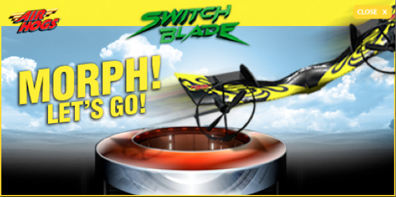 Spin Master Air Hogs SwitchBlade Display Ad It Morphs.png