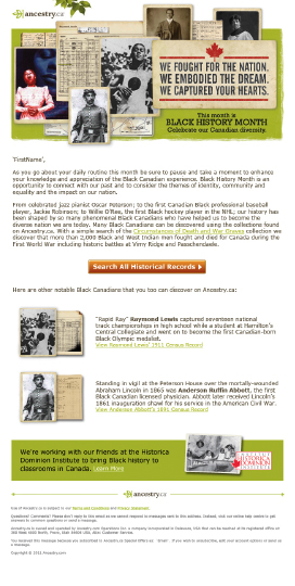 Ancestry.ca Black History Month Email.jpg