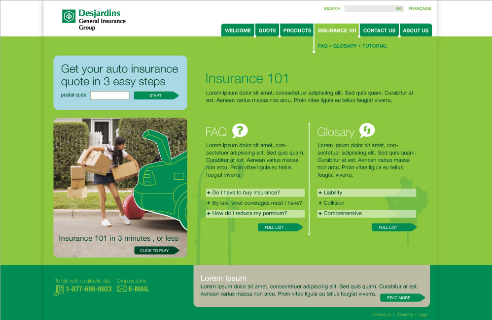 Desjardins General Insurance Website.jpg