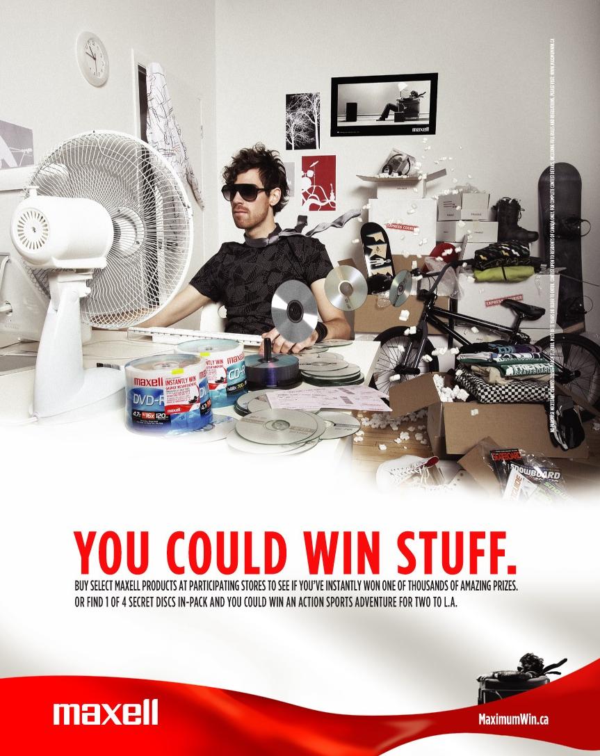 Maxell Win Stuff Print Ad.jpg