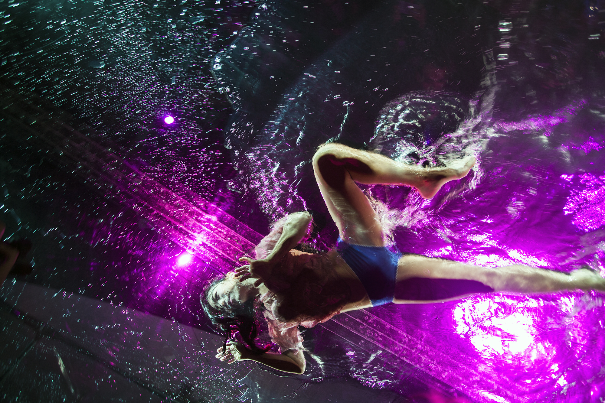 Water Dancer 1, Adobe MAX, Los Angeles
