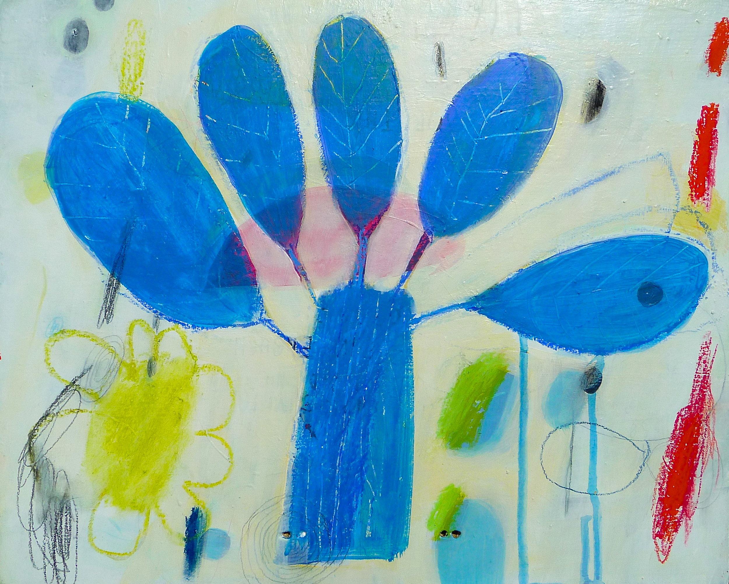 Sketch in Blue  13 x 16  $450