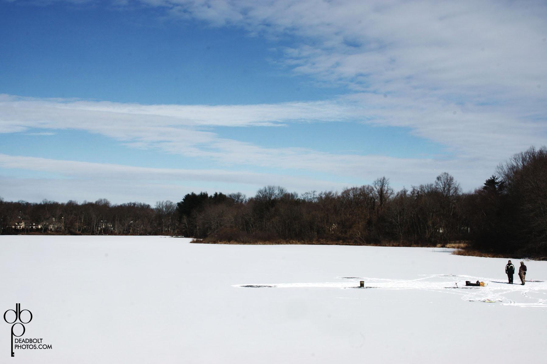 Ice Fishing takes balls.
