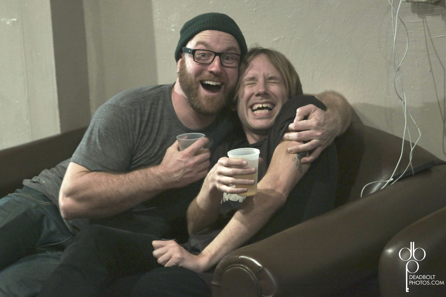 Geoff and Brian