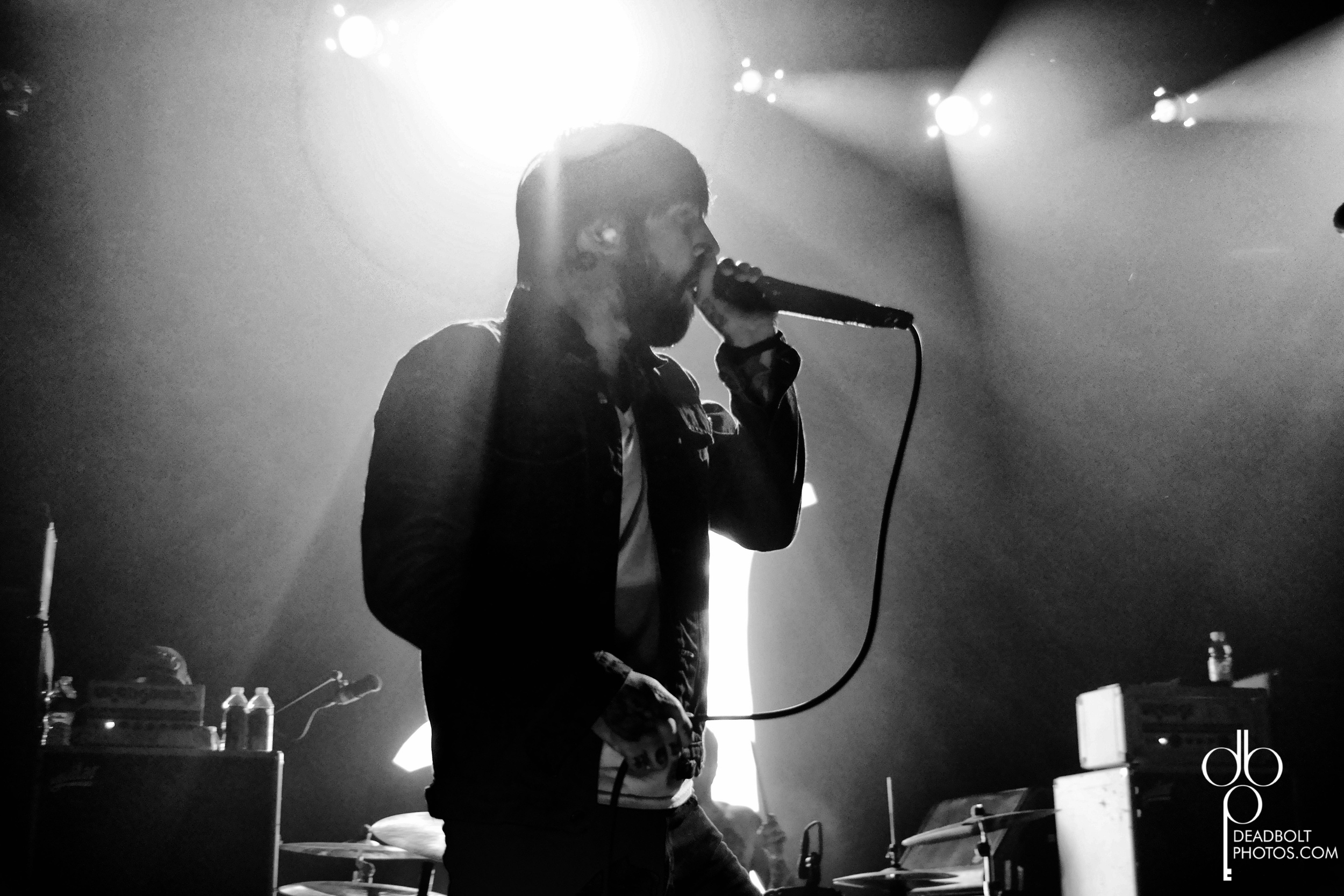 Keith Buckley  at Irving Plaza