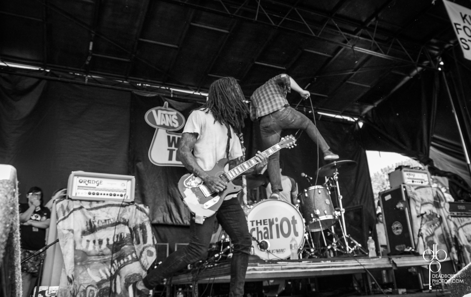 The Chariot at Vans Warped Tour 2013.