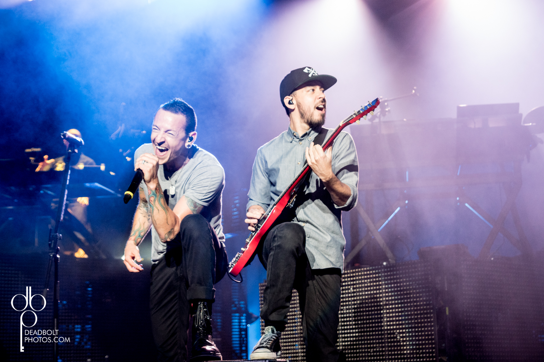 Chester and Mike of LP