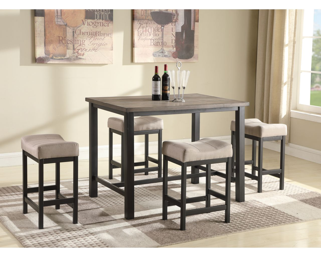 Check out our newest dining sets now available and ready to go!