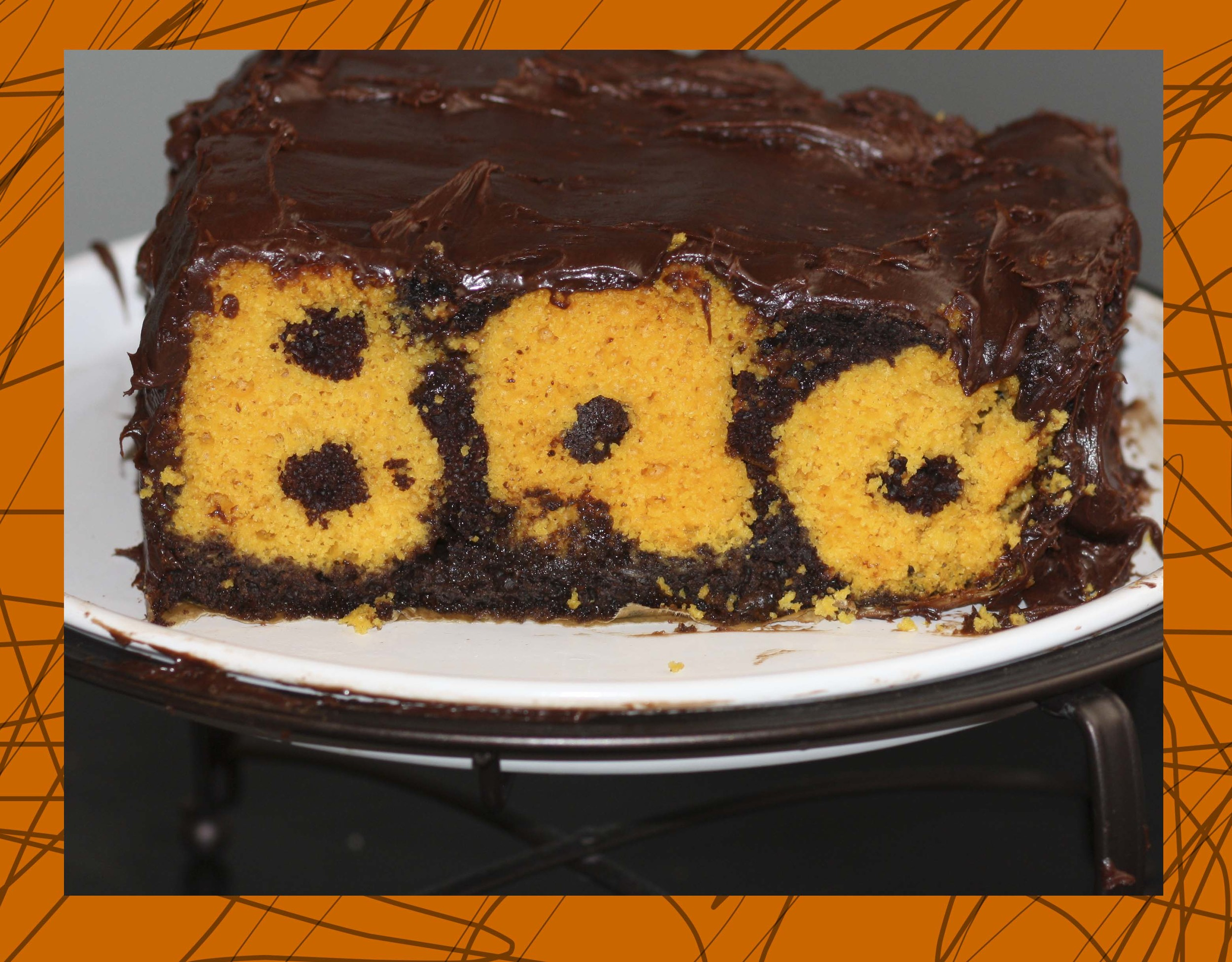 Boo Surprise Cake