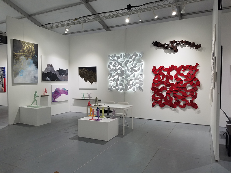 +GALLERyLABs at SUM Gallery I during Scope Miami 2016, featuring Tracie Cheng and Éoin Burke.