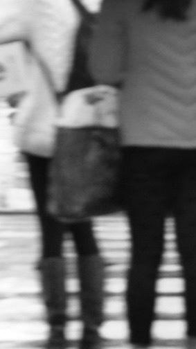 Pedestrians, 2018, digital image